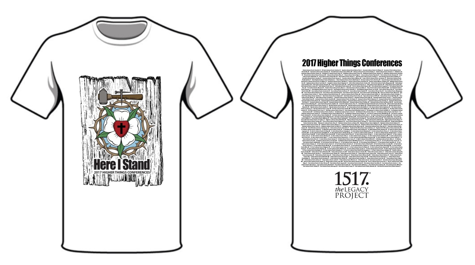 2017 Conference T-Shirts